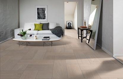 Kahrs Oak Bloc White Engineered Wood Flooring