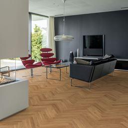 Kahrs Herringbone Oak Boden Oiled Parquet Flooring