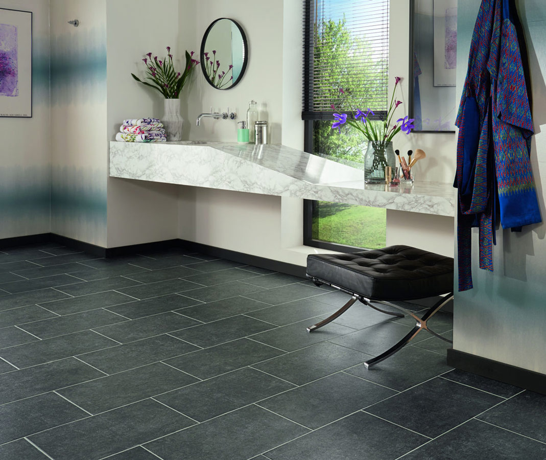Floor tiles for bathroom