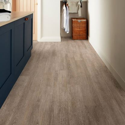 Polyflor Camaro Loc Tan Limed Oak Vinyl Flooring