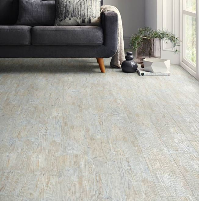 Polyflor Camaro Loc White Limed Oak Vinyl Flooring