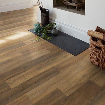 Polyflor Camaro Loc Flamed Oak Vinyl Flooring
