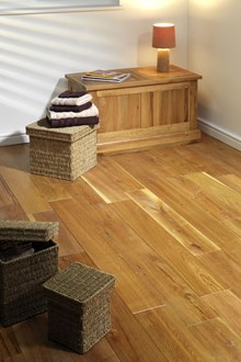 Natura 125mm Oak Oiled Solid Wood Flooring