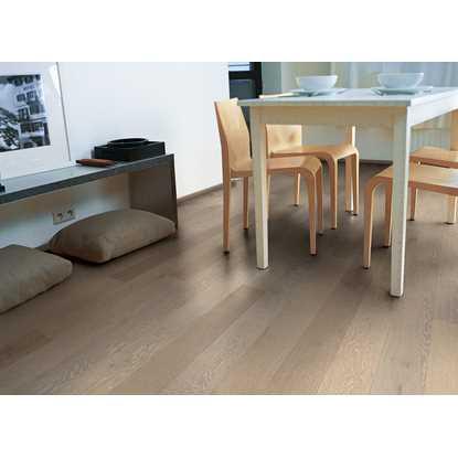 Quickstep Compact Oak Snowflake White Extra Matt COM3099 Engineered Wood Flooring