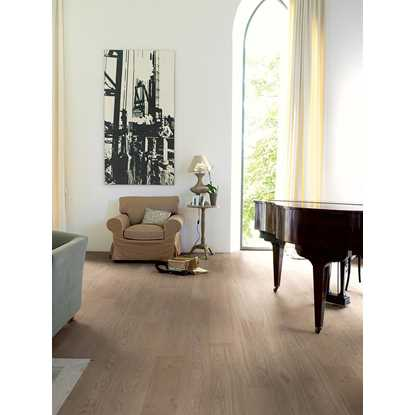 Quickstep Compact Oak Cobblestone Grey Extra Matt COM3107 Engineered Wood Flooring