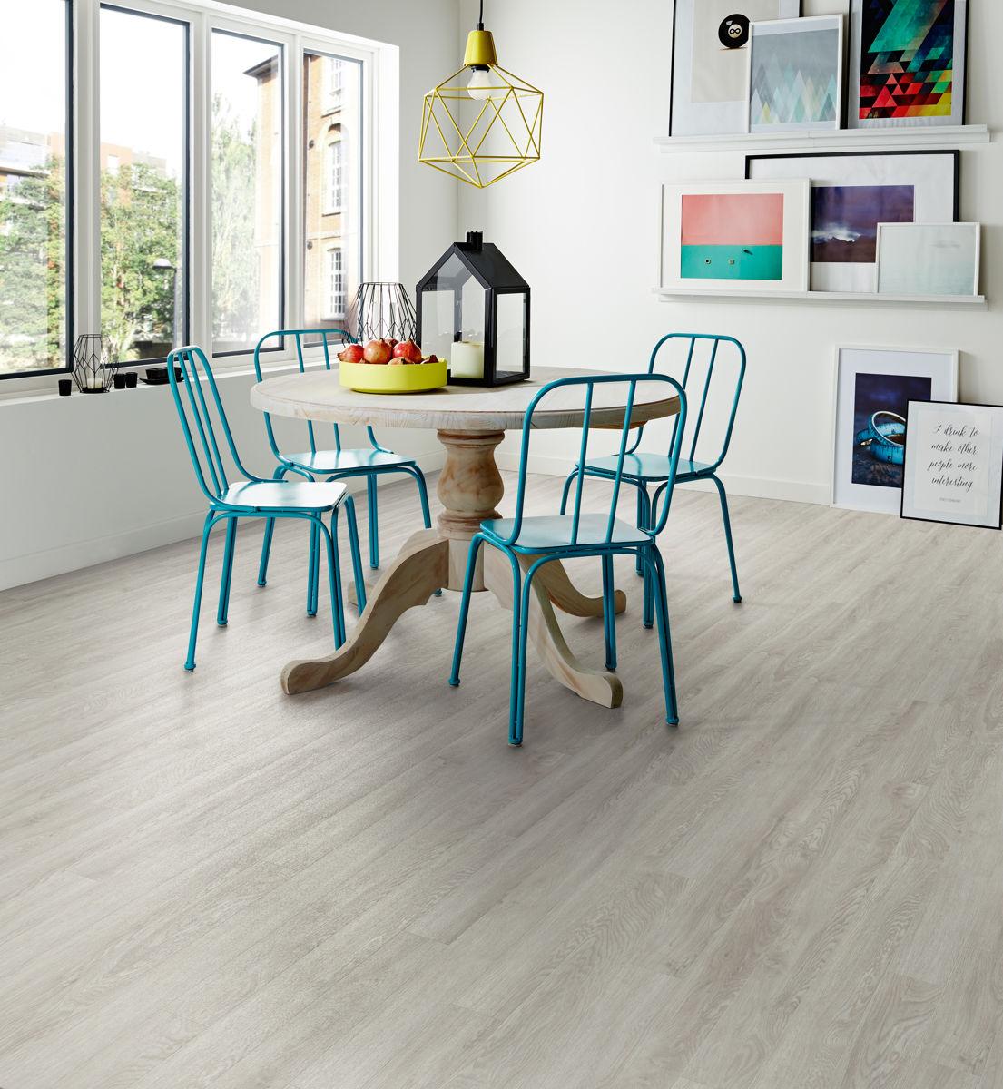 Polyflor Camaro Bianco Oak 2241 Vinyl Flooring