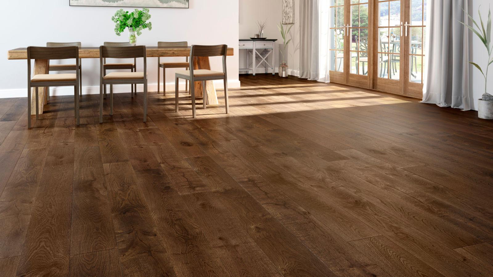 Natura 20mm oak ironbark canyon engineered wood flooring for Floating engineered wood flooring