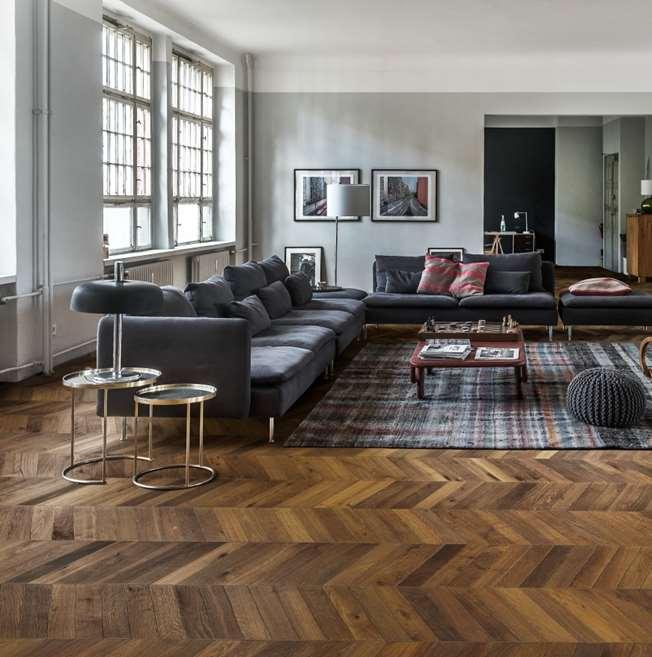 Chevron Floors Floors Now: Kahrs Oak Chevron Dark Brown Engineered Wood Flooring