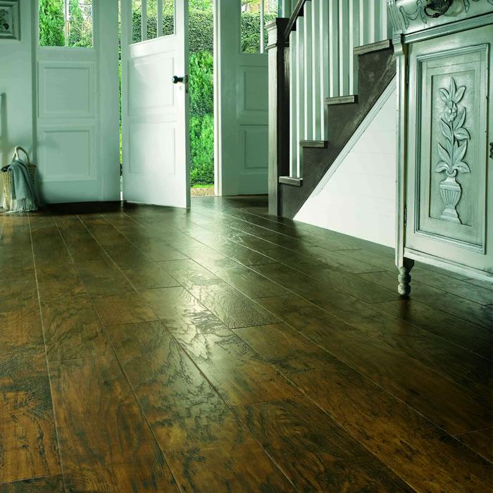 Karndean art select hickory nutmeg ew03 vinyl flooring for Art select parquet