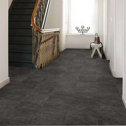 Laminate Stone Flooring tuscan stone sand 8 mm thick x 15 12 in wide x Quickstep Exquisa Slate Black Exq1550 Laminate Flooring