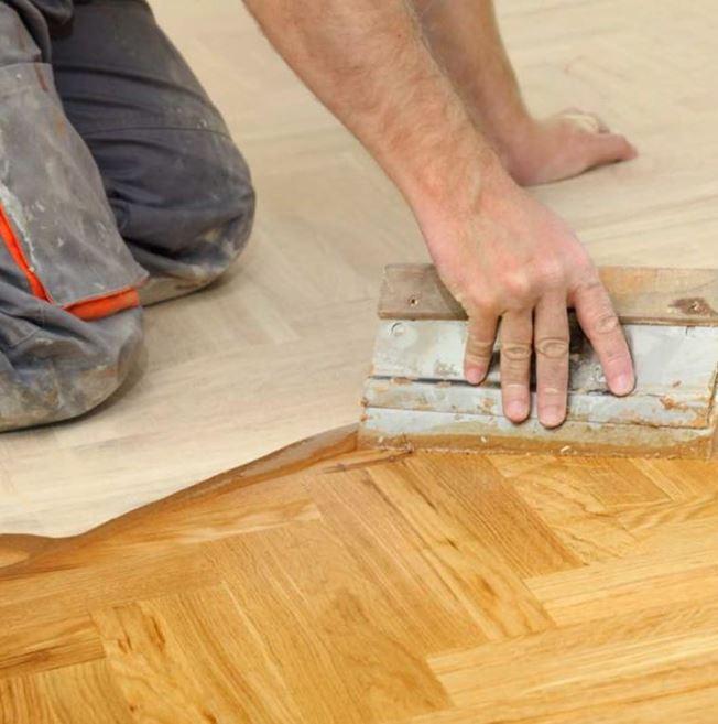 European Solid Oak Rustic Unfinished Parquet Flooring