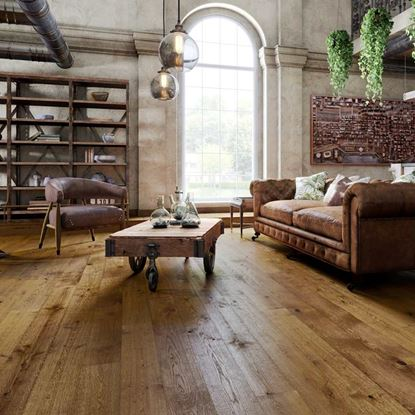 Natura Oak Fair Isle Engineered Wood Flooring