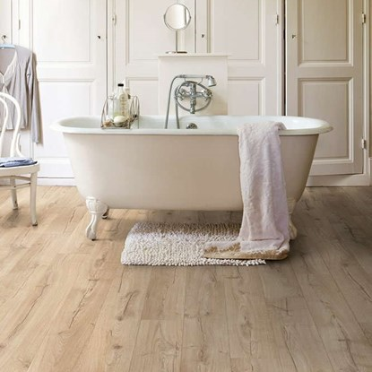 Quick step impressive waterproof laminate - Parquet salle de bain quick step ...