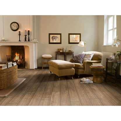 Quickstep Impressive Ultra Scraped Oak Grey Brown IMU1850 Laminate Flooring