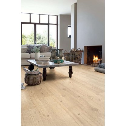 Quickstep Impressive Ultra Sand Blasted Oak Natural IMU1853 Laminate Flooring