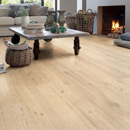 Quickstep Impressive Sand Blasted Oak Natural IM1853 Laminate Flooring