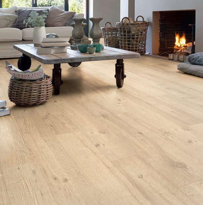 Quickstep Impressive Ultra Sand Blasted Oak Natural IMU1853 Laminate Flooring