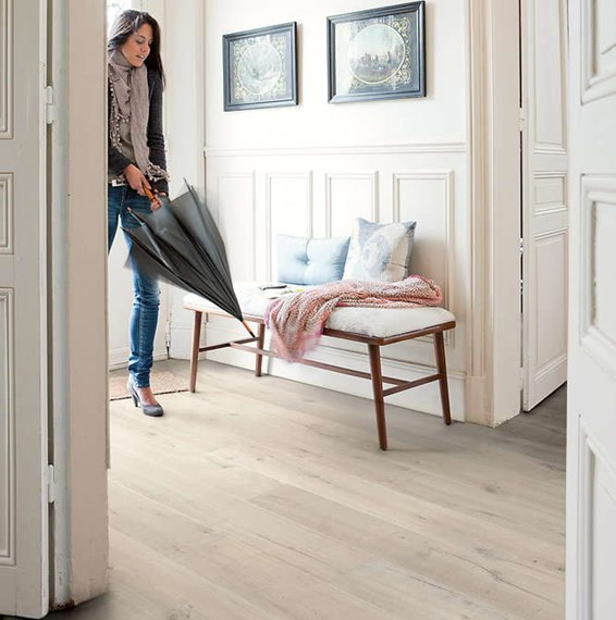 Light Laminate Flooring this review is fromoutlast graceland oak 10 mm thick x 7 12 in wide x 54 1132 in length laminate flooring 1693 sq ft case Quickstep Impressive Soft Oak Light Im1854 Laminate Flooring