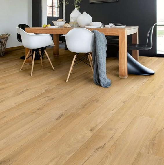 Quickstep impressive soft oak natural im1855 laminate flooring for Quickstep flooring