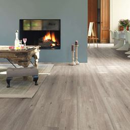 Quickstep Impressive Sawcut Oak Grey IM1858 Laminate Flooring