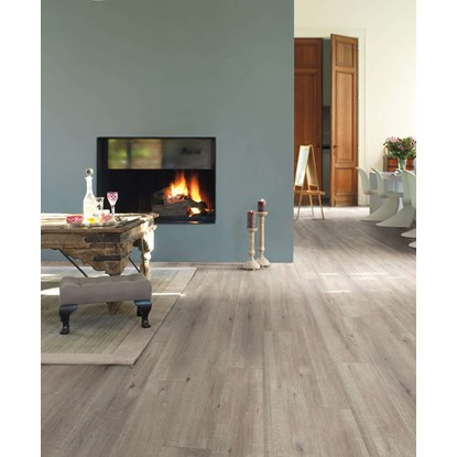 Quickstep Impressive Sawcut Oak Grey IM1858 Laminate Flooring