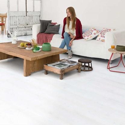 White Laminate Flooring villa gala oak white Quickstep Impressive White Planks Im1859 Laminate Flooring