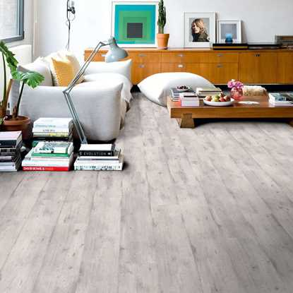 Quickstep Impressive Concrete Wood Light Grey IM1861 Laminate Flooring