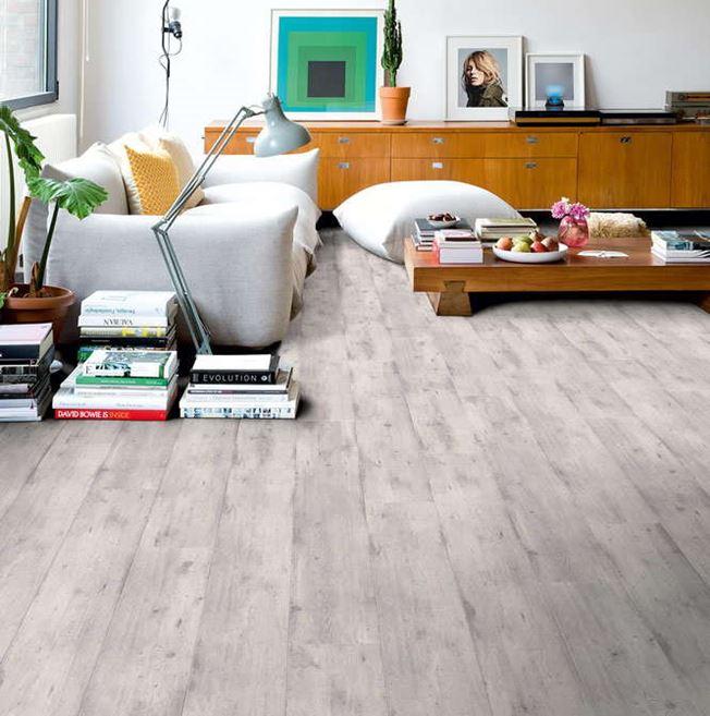 Quickstep Impressive Ultra Concrete Wood Light Grey IMU1861 Laminate Flooring