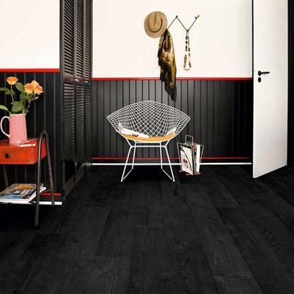 Black Laminate Flooring, Black Wood Laminate Flooring