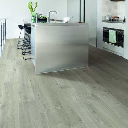 Quickstep Impressive Soft Oak Light Grey IM3558 Laminate Flooring