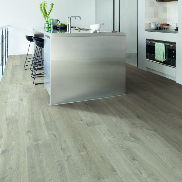 Quickstep Impressive Soft Oak Grey IM3558 Laminate Flooring