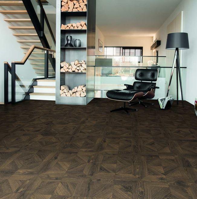 Quickstep Impressive Patterns Royal Oak Dark Brown IPA4145 Laminate Flooring