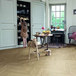 Quickstep Impressive Patterns Chevron Oak Medium IPA4160 Laminate Flooring