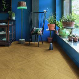 Quickstep Impressive Patterns Chevron Oak Natural IPA4161 Laminate Flooring