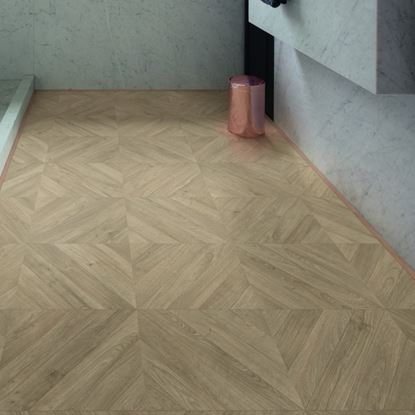 Quickstep Impressive Patterns Chevron Oak Taupe IPA4164 Laminate Flooring