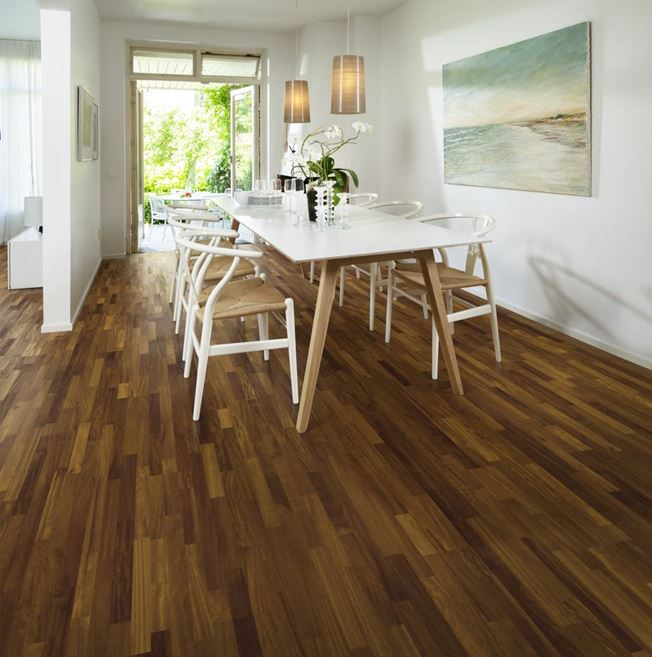 Kahrs Iroko Vetlanda Engineered Wood Flooring