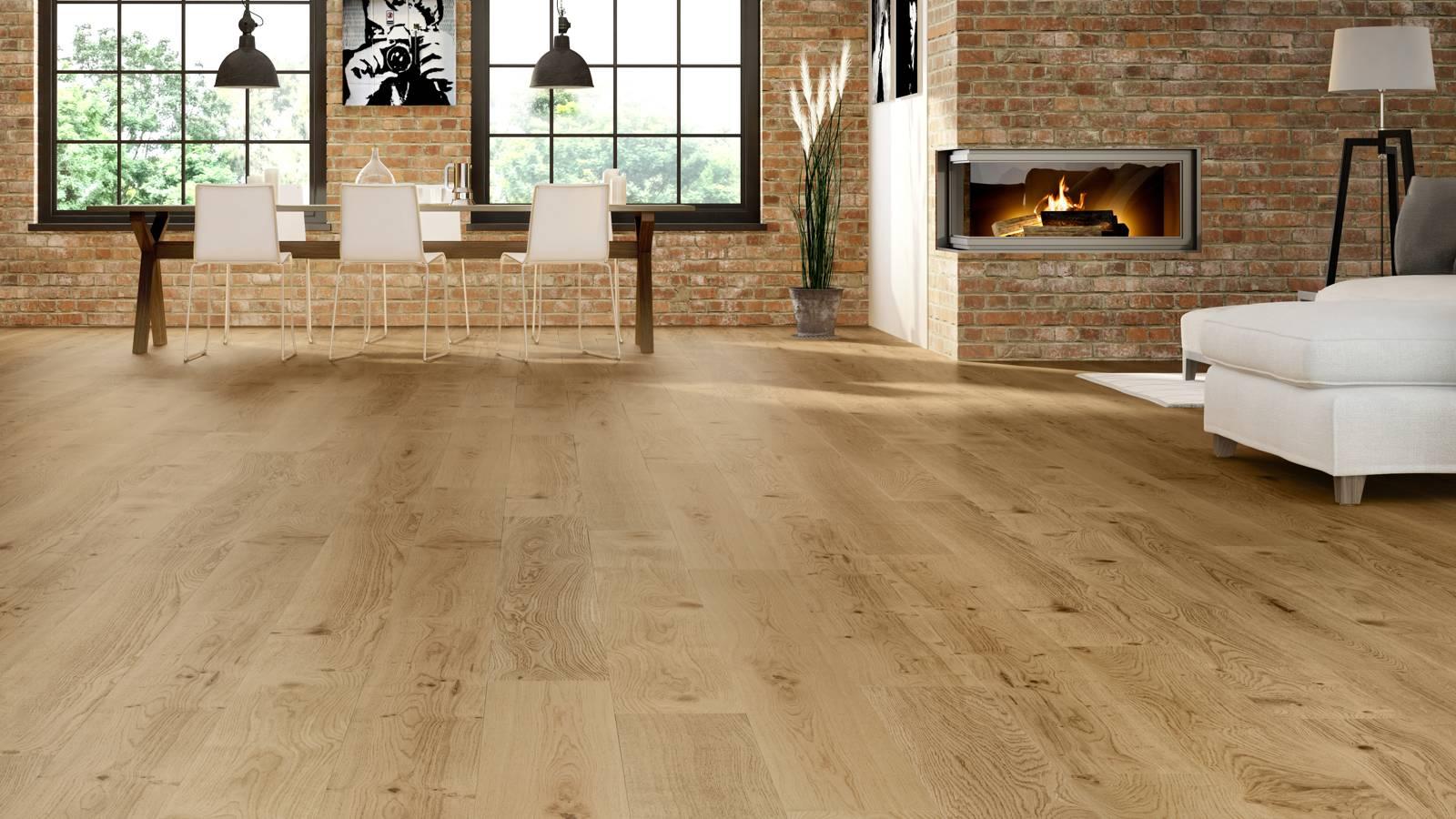 Natura oak ironbark master for Engineered wood