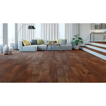 Natura American Black Walnut Ironbark Mississippi Engineered Wood Flooring