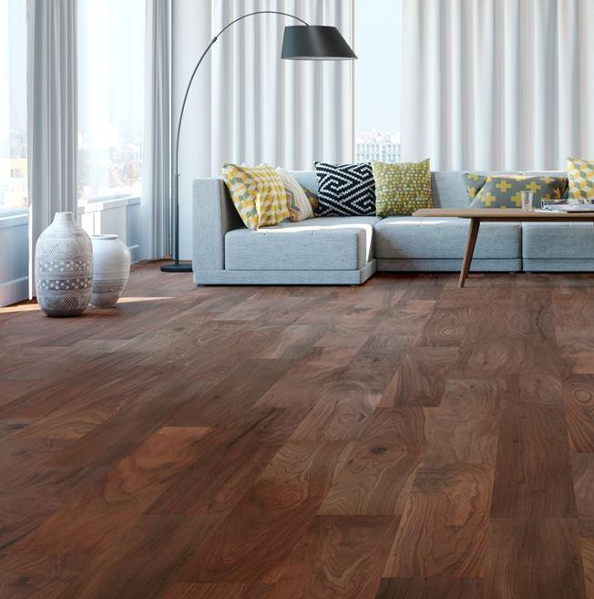 Ironbark American Black Walnut Mississippi Engineered Wood Flooring
