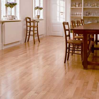 Junckers 14mm Ash Classic Solid Wood Flooring
