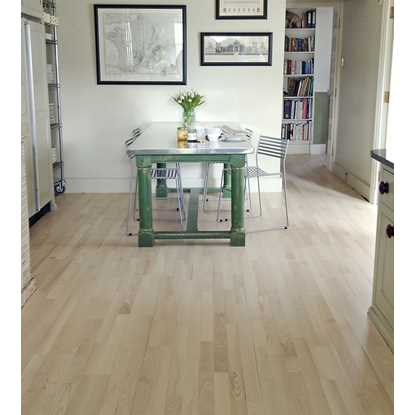 Junckers 14mm Nordic Ash Harmony Solid Wood Flooring