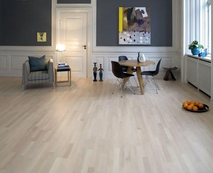Junckers 14mm Nordic Beech Classic Solid Beech Flooring