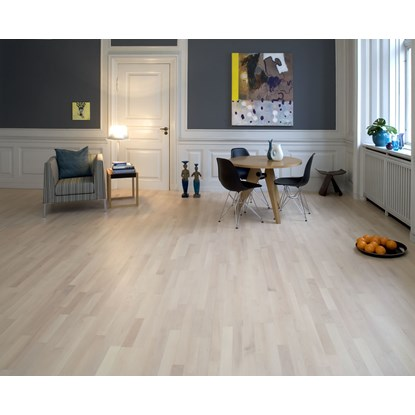 Junckers 14mm Nordic Beech Classic Solid Beech Flooring