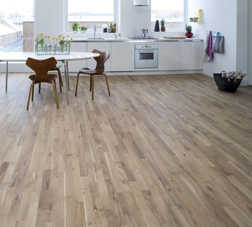 ... Wood Flooring Junckers 14mm Nordic Oak Harmony Solid Oak Flooring