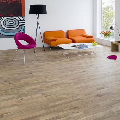 Junckers 14mm Nordic Oak Variation Solid Oak Flooring
