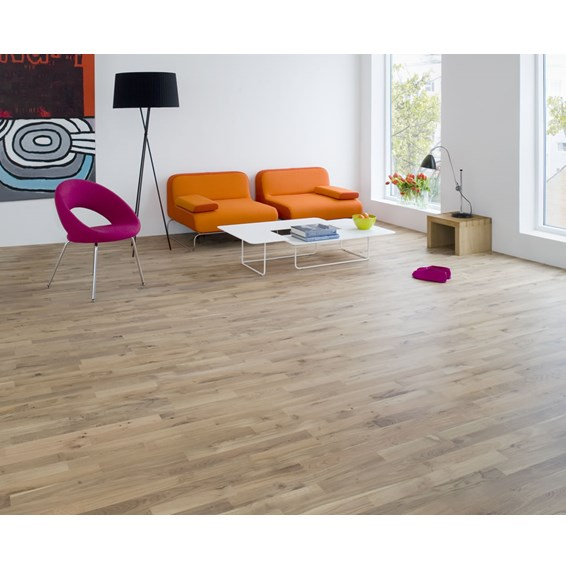 Junckers 14mm Nordic Oak Variation Solid Oak Flooring