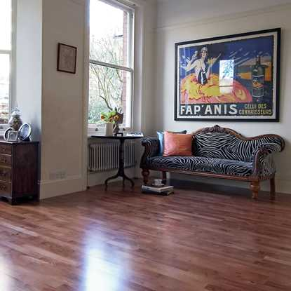 Junckers 14mm Beech Sylvared Harmony Solid Wood Flooring