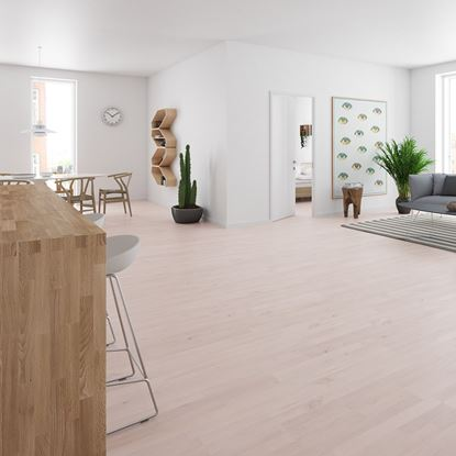 Junckers 14mm Beech White Harmony Solid Wood Flooring