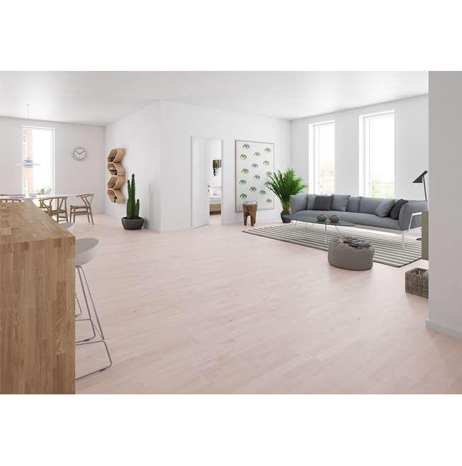 Junckers 14mm Beech White Harmony Solid Wood Flooring