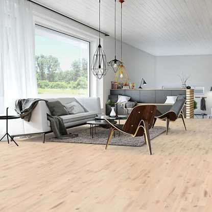 Junckers 14mm Nordic Beech Variation Solid Beech Flooring